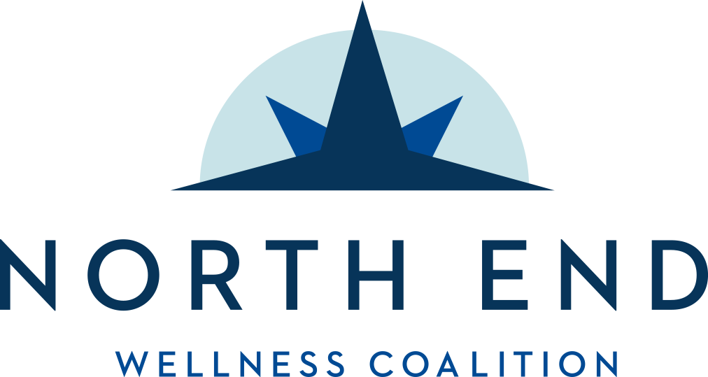 North End Wellness Coalition - logo and home link