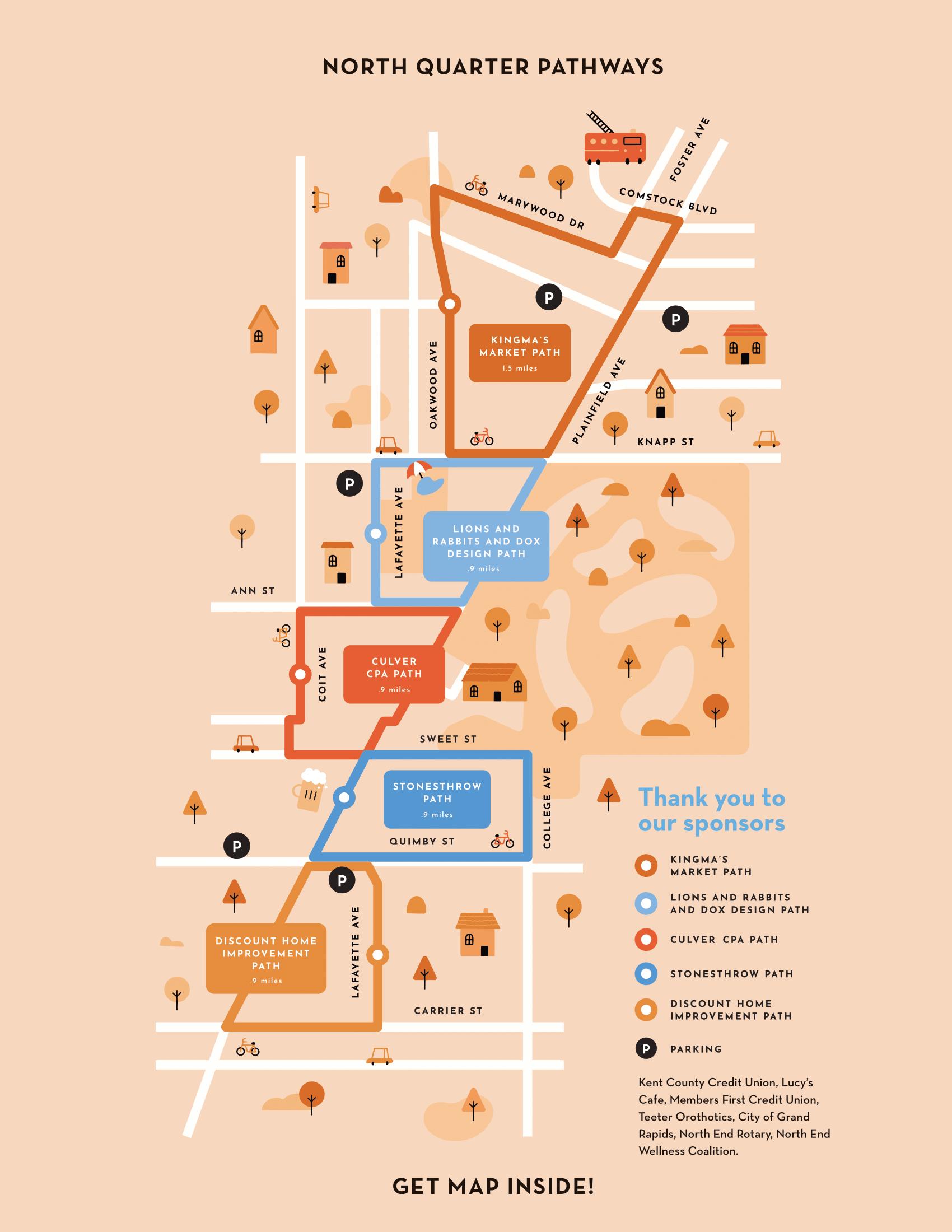 North Quarter Pathways